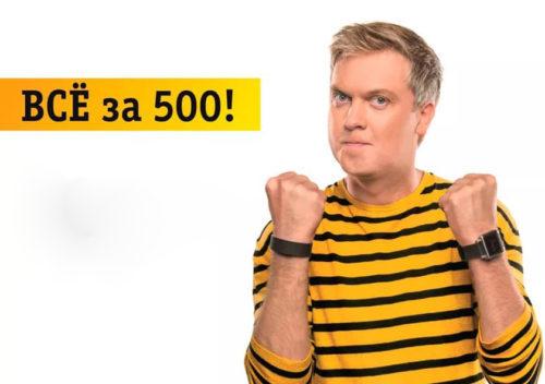 Компактный тариф Билайн Все по 500