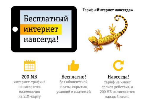 Тариф «Интернет навсегда» от Билайн