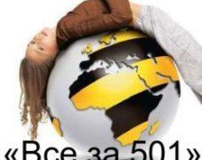 Тариф «Все за 501» от Билайн: описание комплексного предложения